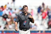 Cary, North Carolina  - Sunday May 21, 2017: Curt Johnson prior to a regular season National Women's Soccer League (NWSL) match between the North Carolina Courage and the Chicago Red Stars at Sahlen's Stadium at WakeMed Soccer Park. Chicago won the game 3-1.