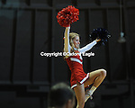 Mississippi cheerleader vs. Florida at the Tad Smith Coliseum in Oxford, Miss. on Saturday, February 20, 2010 in Oxford, Miss. Florida won 64-61.