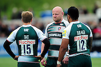 Dan Cole of Leicester Tigers looks dejected after the match. Aviva Premiership semi final, between Saracens and Leicester Tigers on May 21, 2016 at Allianz Park in London, England. Photo by: Patrick Khachfe / JMP