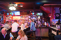 People dining in Acme Oyster Bar, New Orleans, Louisiana