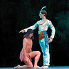 La Bayad&egrave;re<br /> The Mariinsky Ballet <br /> at The Royal Opera House, London, Great Britain <br /> rehearsal <br /> 11th August 2011 <br /> Presented by Victor Hochhauser<br /> Music by Ludwig Minkus <br /> Choreography by Marius Petipa <br /> <br /> Vladimir Shyklyarov (as Solor, a rich warrior)<br /> <br /> <br /> Photograph by Elliott Franks