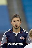 New England Revolution midfielder Chris Tierney (8). Chivas USA defeated the New England Revolution, 4-0, at Gillette Stadium on May 5, 2010.