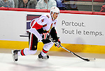 22 March 2010: Ottawa Senators' defenseman Chris Phillips in action against the Montreal Canadiens at the Bell Centre in Montreal, Quebec, Canada. The Senators shut out the Canadiens 2-0 in their last meeting of the regular season. Mandatory Credit: Ed Wolfstein Photo