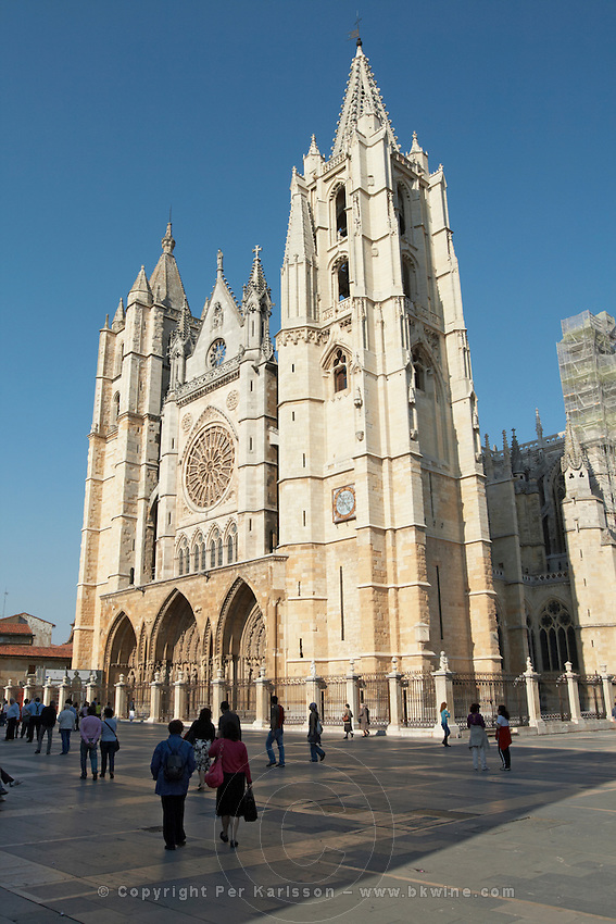 Santa Maria de Regla cathedral Plaza de Regla , Leon spain castile and leon