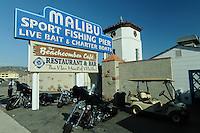 Pier, Malibu, California