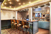 Theater Entertainment Area/Bar adds convenience...