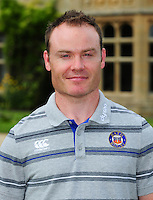 Joey Hayes poses for a portrait at a Bath Rugby photocall. Bath Rugby Media Day on August 24, 2016 at Farleigh House in Bath, England. Photo by: Patrick Khachfe / Onside Images