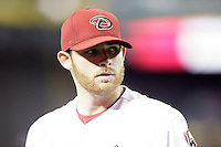 27 June 2011:  Starting pitcher #31 Ian Kennedy during a Major League Baseball game MLB Cleveland Indians defeated the Arizona Diamondbacks 5-4 inside Chase Field in Phoenix, AZ.  **Editorial Use Only**