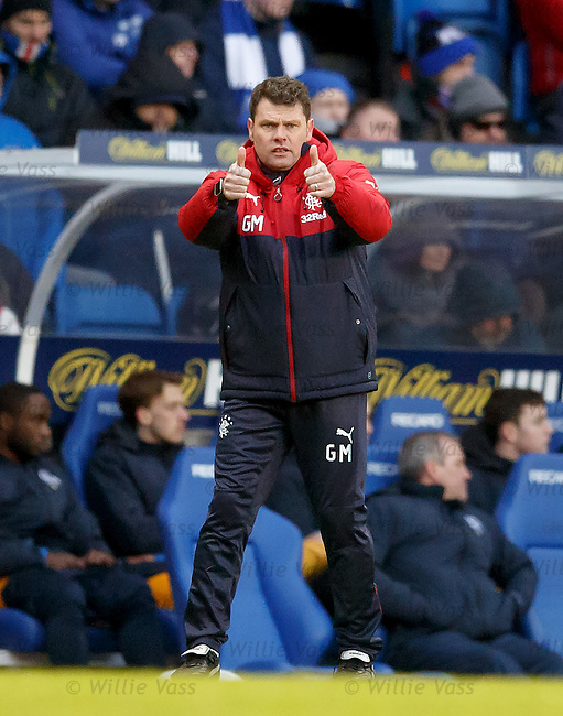 Thumbs up from caretaker manager Graeme Murty