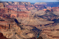 Mohave point (view west) into Grand Canyon's entire geologic strata exposed