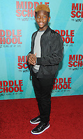 NEW YORK, NY - OCTOBER 01: Luke Hardeman attends the New York Screening of Middle School: The Worst Years of My Life at Regal E-Walk on October 1, 2016 in New York City. Photo Credit: John Palmer/MediaPunch