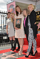 LOS ANGELES, CA. October 17, 2016: Beth Hall &amp; Anna Faris &amp; Allison Janney &amp; Mimi Kennedy &amp; Jaime Pressly at the Hollywood Walk of Fame Star ceremony honoring actress Allison Janney.<br /> Picture: Paul Smith/Featureflash/SilverHub 0208 004 5359/ 07711 972644 Editors@silverhubmedia.com
