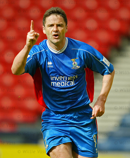 Paul Ritchie, Inverness Caledonian Thistle.stock season 2003-2004.pic willie vass