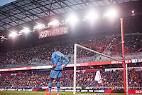 HARRISON, NJ - Sunday, November 8, 2015: The New York Red Bulls defeat D.C. United 1-0 at home at Red Bull Arena in the second leg of the Eastern Conference Semi-Finals of the 2015 MLS Playoffs.
