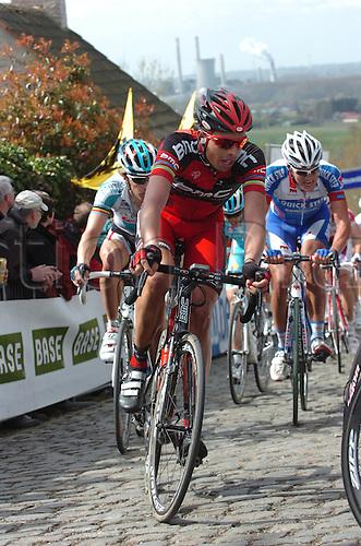 04.04.2011. Tour des Flanders Belgium.  Bmc Racing 2011, Ballan Alessandro, Patersberg