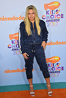 Actress/singer Alli Simpson at the Nickelodeon 2017 Kids' Choice Awards at the USC's Galen Centre, Los Angeles, USA 11 March  2017<br /> Picture: Paul Smith/Featureflash/SilverHub 0208 004 5359 sales@silverhubmedia.com