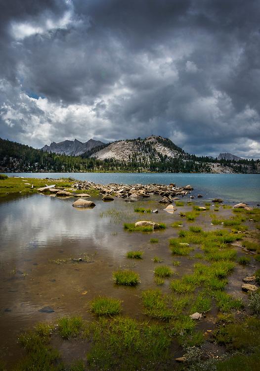 Virginia Lake, John Muir Trail