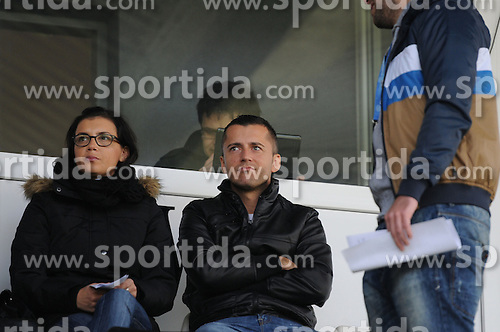 Igor Celec, ex general manager of NK Mura 05 before football match between NK Mura 05 and NK Domzale in 18th Round of Prva liga NZS 2012/13, on November 11, 2012 in Fazanerija, Slovenia. (Photo by Ales Cipot / Sportida)