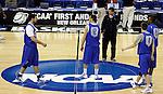 UK Basketball 2010: NCAA Practice