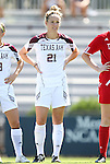 11 September 2011: Texas A&M's Mary Grace Schmidt. The Texas A&M Aggies defeated the University of North Carolina Tar Heels 4-3 in overtime at Koskinen Stadium in Durham, North Carolina in an NCAA Division I Women's Soccer game.
