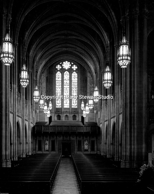 East Liberty PA:  View of the Chapel inside the East Liberty Presbyterian Church.<br />