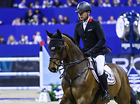 OMAHA, NEBRASKA - APR 2: Markus Brinkmann rides Pikeur Dylon during the Longines FEI World Cup Jumping Final at the CenturyLink Center on April 2, 2017 in Omaha, Nebraska. (Photo by Taylor Pence/Eclipse Sportswire/Getty Images)