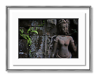 Decor samples Khmer art and landscapes from Cambodia