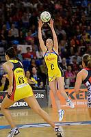ANZ Championship 2013 Haier Pulse v Canterbury Tactix at Te Rauparaha Arena, Porirua, Wellington, New Zealand on Monday 17 June 2013.<br /> Photo by Masanori Udagawa.<br /> www.photowellington.photoshelter.com..
