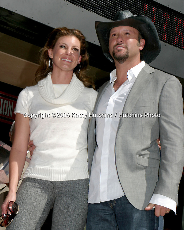Tim McGraw.Tim McGraw receives Star on the Walk of Fame.Hollywood & Highland.Los Angeles, CA.October 17, 2006.©2006 Kathy Hutchins / Hutchins Photo....                 Faith Hill  & Tim McGraw .Tim McGraw receives Star on the Walk of Fame.Hollywood & Highland.Los Angeles, CA.October 17, 2006.©2006 Kathy Hutchins / Hutchins Photo....
