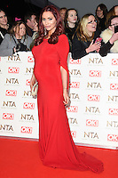 Amy Childs at the National TV Awards 2017 held at the O2 Arena, Greenwich, London. <br /> 25th January  2017<br /> Picture: Steve Vas/Featureflash/SilverHub 0208 004 5359 sales@silverhubmedia.com