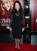HOLLYWOOD, LOS ANGELES, CA, USA - NOVEMBER 05: Lisa Vanderpump arrives at the Los Angeles Premiere Of HBO's 'The Comeback' held at the El Capitan Theatre on November 5, 2014 in Hollywood, Los Angeles, California, United States. (Photo by Xavier Collin/Celebrity Monitor)
