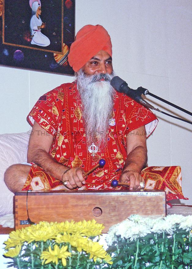 Portrait of yogi bhajan, 1989