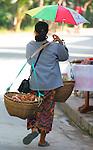 Street Vendor, Luang Prabang, Laos