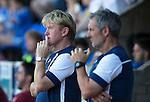 St Johnstone v Bradford City&hellip;19.07.16  McDiarmid Park, Perth. Pre-season Friendly<br />Stuart McCall and Kenny Black watch the game<br />Picture by Graeme Hart.<br />Copyright Perthshire Picture Agency<br />Tel: 01738 623350  Mobile: 07990 594431