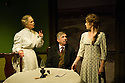 Hindle Wakes, written by Stanley Houghton, directed by Bethan Dear and produced by Jamil Jivanjee, opens at the Finborough Theatre. It is the play's first London revival in 30 years. Picture shows: Anna Carteret (as Mrs Hawthorn), Peter Ellis (as Christopher Hawthorn), Ellie Turner (as Fanny Hawthorn).