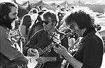 John McEuen, Steve Martin, and Jerry Garcia, Golden Gate Bluegrass Festival, Marin County Civic Center. 4/28/74, 12-22-