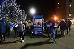 Leicester City 0 Manchester City 0, 29/12/2015. King Power Stadium, Premier League. Programme kiosk at The King Power Stadium Leicester, before the goalless draw between Leicester City and Manchester City. Photo by Paul Thompson.