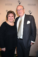 Larry Gelbart & Wife   arriving at the Television Academy Hall of Fame Ceremony in Beverly Hills, CA .December 9, 2008.©2008 Kathy Hutchins / Hutchins Photo....                .
