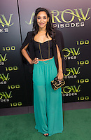 VANCOUVER, BC - OCTOBER 22: Candice Patton at the 100th episode celebration for tv's Arrow at the Fairmont Pacific Rim Hotel in Vancouver, British Columbia on October 22, 2016. Credit: Michael Sean Lee/MediaPunch