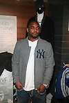 New York Giant's Ahmad Bradshaw Attends A Fabolous Way Foundation's 1st Annual 3 Kings Coat Drive wraps-up Press Conference and Autograph Signing In Conjunction With Dr. Jays, NY Cares, and Hot 97 Held at Dr. Jays 34th Street Store, NY 12/1/11
