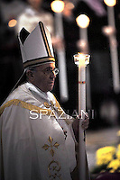 Pope Francis Mass presentation of Our Lord at St Peter's basilica the Vatican. Febraury 2,2014