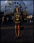 Thalita McDonnell, 16. Harlem, Manhattan. Coney Island teen-agers. Summer 2008.