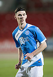 St Johnstone U20 v Motherwell U20&hellip;03.10.16.. McDiarmid Park   SPFL Development League<br />Eoghan McCawl<br />Picture by Graeme Hart.<br />Copyright Perthshire Picture Agency<br />Tel: 01738 623350  Mobile: 07990 594431