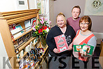 Launching the Christmas Craft Fair at the Manor West Hotel on November 24th 4pm - 8pm in Aid of Recovery Haven. Pictured Samantha Sugrue, Volunteer,  Kenneth Reynolds, Fundraising Co-Ordinator, Beatrice McDonald, Volunteer,