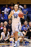 24 March 2014: Duke's Tricia Liston. The Duke University Blue Devils played the DePaul University Blue Demons in an NCAA Division I Women's Basketball Tournament Second Round game at Cameron Indoor Stadium in Durham, North Carolina. DePaul won the game 74-65.