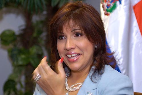Margarita Cedeño encabezará marcha en Santiago este fin de semana