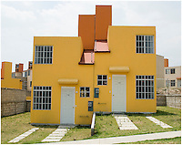 Housing development Profusa, Tepojaco, Estado de Mexico.  April 19, 2007