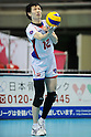 Atsushi Abe (FC Tokyo),MARCH 5, 2011 - Volleyball : 2010/11 Men's V.Premier League match between F.C.Tokyo 0-3 Sakai Blazers at Tokyo Metropolitan Gymnasium in Tokyo, Japan. (Photo by AZUL/AFLO)