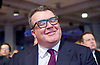 Labour Leadership <br /> Conference <br /> at The QE Conference Centre, Westminster, London, Great Britain <br /> 12th September 2015 <br /> <br /> <br /> Tom Watson <br /> deputy leader <br /> the moment when he realised he'd won <br /> <br /> Photograph by Elliott Franks <br /> Image licensed to Elliott Franks Photography Services