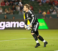 CARSON, CA – APRIL 9, 2011: Chivas USA goalie Dan Kennedy (1) during the match between Chivas USA and Columbus Crew at the Home Depot Center, April 9, 2011 in Carson, California. Final score Chivas USA 0, Columbus Crew 0.